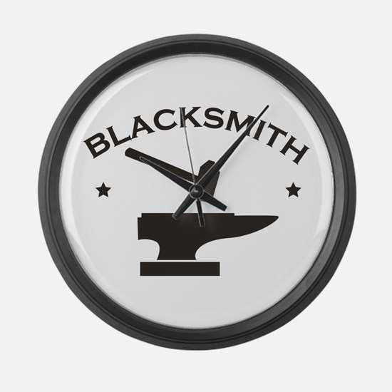 Blacksmith Large Wall Clock