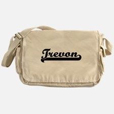 Trevon Classic Retro Name Design Messenger Bag