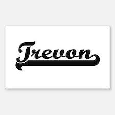 Trevon Classic Retro Name Design Decal