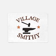 Village Smithy 5'x7'Area Rug