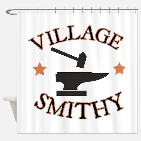 Village Smithy Shower Curtain