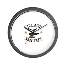 Village Smithy Wall Clock
