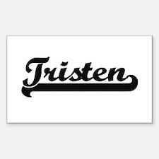 Tristen Classic Retro Name Design Decal