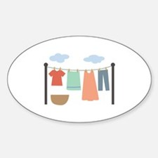 Clothesline Decal