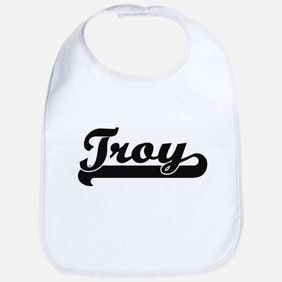 Troy Classic Retro Name Design Bib