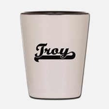 Troy Classic Retro Name Design Shot Glass