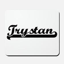 Trystan Classic Retro Name Design Mousepad