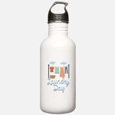Laundry Day Water Bottle