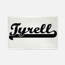Tyrell Classic Retro Name Design Magnets