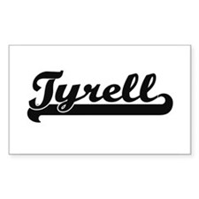 Tyrell Classic Retro Name Design Decal