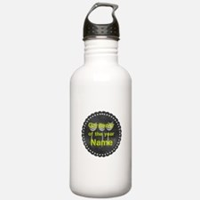 Cool Gardener Badge Water Bottle