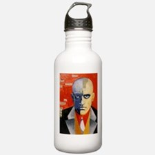Mayakovsky soviet futu Sports Water Bottle