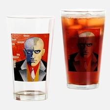 Mayakovsky soviet futurist avangard Drinking Glass