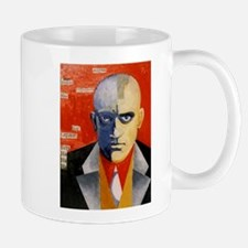 Mayakovsky soviet futurist avangard poet Mugs