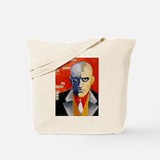 Mayakovsky soviet futurist avangard poet Tote Bag