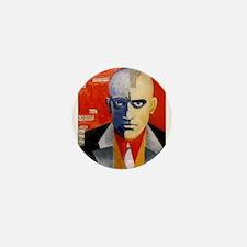 Mayakovsky soviet futurist avangard po Mini Button