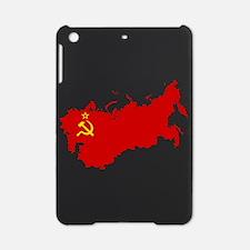 Red USSR Soviet Union map Communist iPad Mini Case