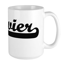 Xzavier Classic Retro Name Design Mugs