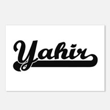 Yahir Classic Retro Name Postcards (Package of 8)