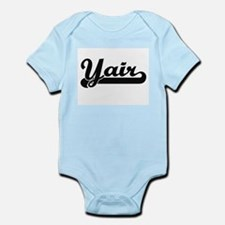 Yair Classic Retro Name Design Body Suit