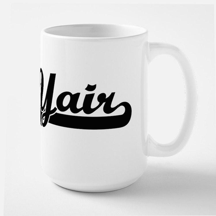 Yair Classic Retro Name Design Mugs