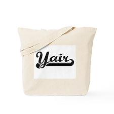 Yair Classic Retro Name Design Tote Bag