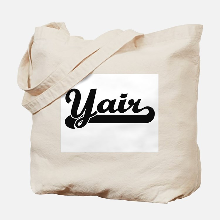 Yair Classic Retro Name Design Tote Bag