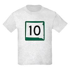 Highway 10, South Dakota T-Shirt