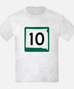 Highway 10, South Dakota T-Shirt