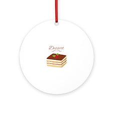 Dessert Ornament (Round)
