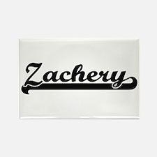 Zachery Classic Retro Name Design Magnets