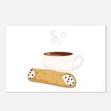 Cannoli & Coffee Postcards (Package of 8)