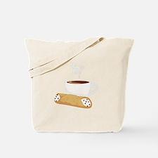 Cannoli & Coffee Tote Bag