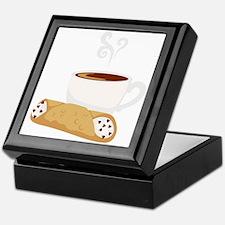 Cannoli & Coffee Keepsake Box