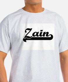 Zain Classic Retro Name Design T-Shirt