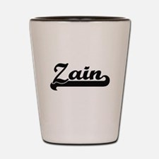 Zain Classic Retro Name Design Shot Glass