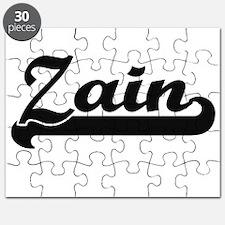 Zain Classic Retro Name Design Puzzle