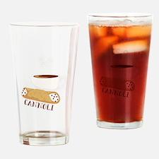 Cannoli Drinking Glass
