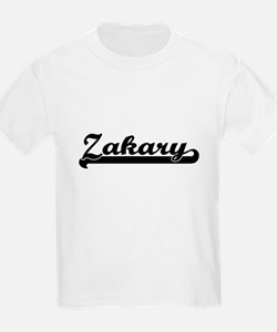 Zakary Classic Retro Name Design T-Shirt