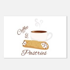 Coffee & Pastries Postcards (Package of 8)