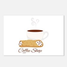 Coffee Shop Postcards (Package of 8)