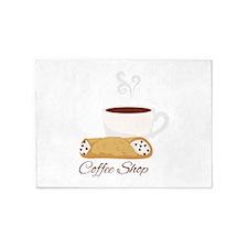 Coffee Shop 5'x7'Area Rug