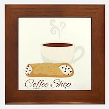 Coffee Shop Framed Tile