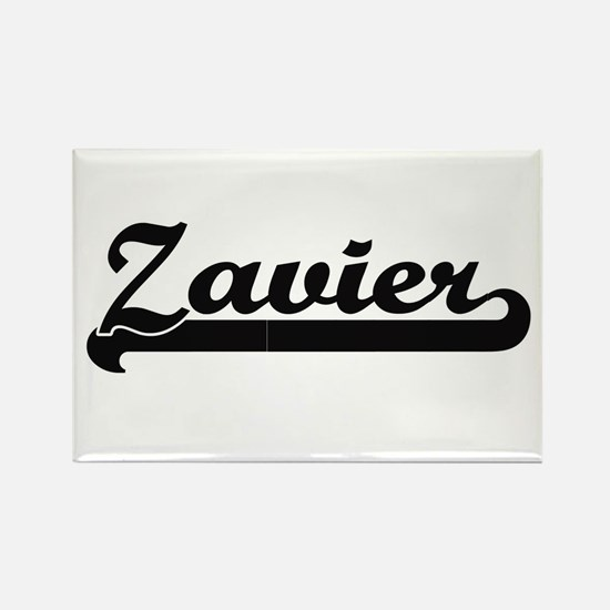 Zavier Classic Retro Name Design Magnets