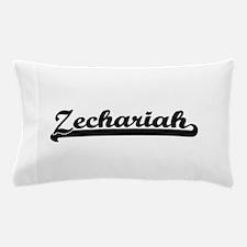 Zechariah Classic Retro Name Design Pillow Case