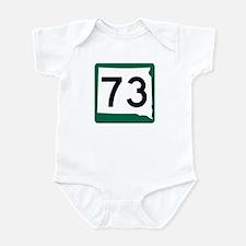 Highway 73, South Dakota Infant Bodysuit