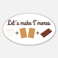 Let's Make Smores Decal