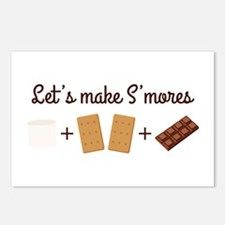 Let's Make Smores Postcards (Package of 8)