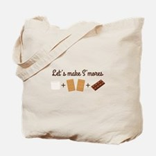 Let's Make Smores Tote Bag