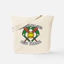 Softball Diamonds Best Friend! Tote Bag